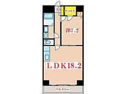CASAGRAN鹿児島(管理)[3階]の間取り