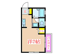 下原ビル [4階]の間取り