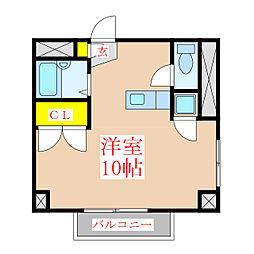 サンロイヤル新屋敷[2階]の間取り