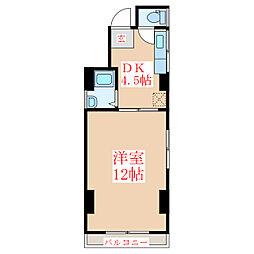 瀬口ビル[3階]の間取り