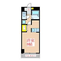 新屋敷山元マンション [2階]の間取り