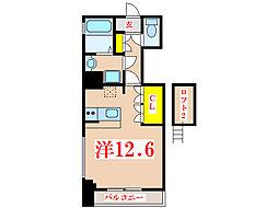 ララ・ポート松崎[4階]の間取り