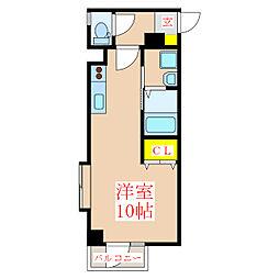 Bonheur[6階]の間取り