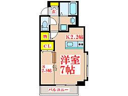 Kanon[5階]の間取り
