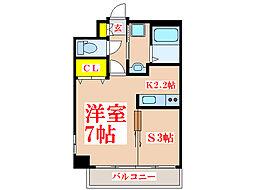 Kanon[3階]の間取り