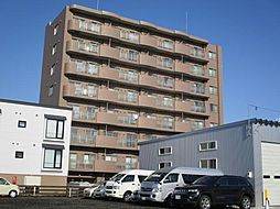 北海道札幌市東区北四十八条東18丁目の賃貸マンションの外観