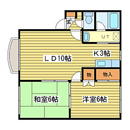 メゾンベル31[2階]の間取り