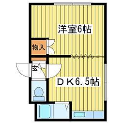 クラッセN21[3階]の間取り