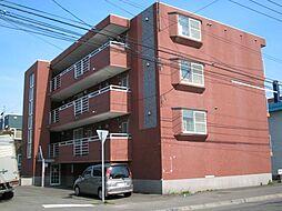 北海道札幌市東区北三十六条東2丁目の賃貸マンションの外観