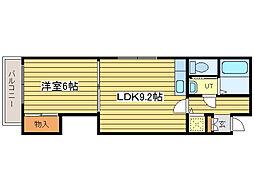 ?NEXT札幌第19[1階]の間取り