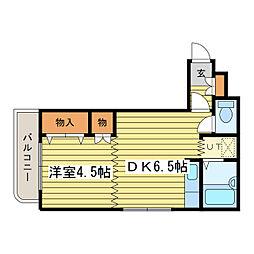 サン・ロイヤルハイツ[3階]の間取り