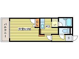 グランドール元町(北24東18)[3階]の間取り