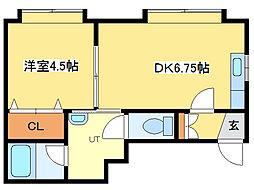 テクトルビル[2階]の間取り