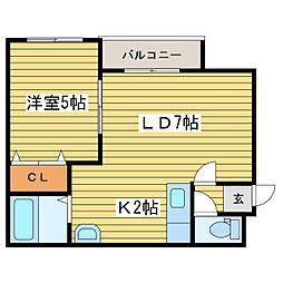 HKKS.com 11[4階]の間取り
