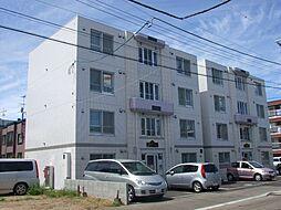 グランメール北40条B[3階]の外観