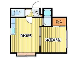 PLAZA IN N11 I[3階]の間取り