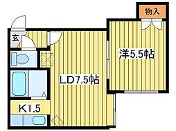 KOHRI41[2階]の間取り