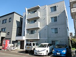 北海道札幌市東区北二十五条東14丁目の賃貸マンションの外観