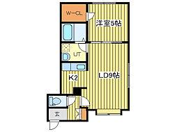 マグネットI[3階]の間取り