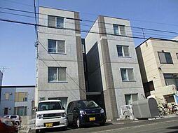 北海道札幌市東区北十七条東8丁目の賃貸マンションの外観