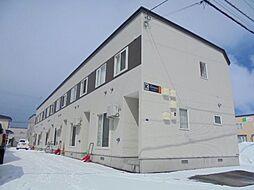 [テラスハウス] 北海道札幌市東区東雁来九条1丁目 の賃貸【/】の外観