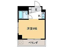 アンシャンテ・モリモトII[4階]の間取り