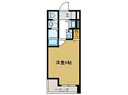 フォルビテッツァ岐阜[3階]の間取り