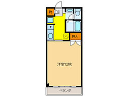 オーラハウス[2階]の間取り