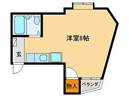 ROA Buil ANNEX[3階]の間取り