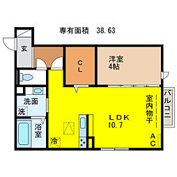 Grande Maison Impetus[3階]の間取り