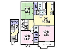 YYY21[2階]の間取り