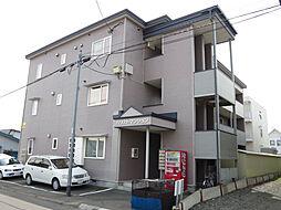 北海道北見市番場町の賃貸アパートの外観