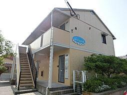 鹿児島県霧島市隼人町姫城の賃貸アパートの外観