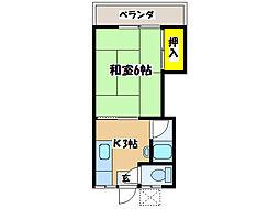 国分駅 1.5万円