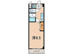 クローバーハイツIII[5階]の間取り