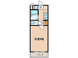 若草フェニックスマンション[3階]の間取り