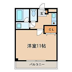 ファミーユSETA[8階]の間取り