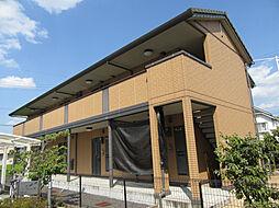滋賀県大津市大萱7丁目の賃貸アパートの外観