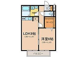 瀬田メディエートプラザ[2階]の間取り