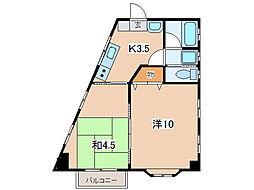 森ビル2号館[2階]の間取り