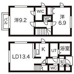 ウィングスII棟[1階]の間取り