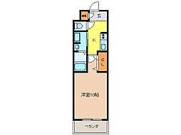 ボヌール飛高[2階]の間取り