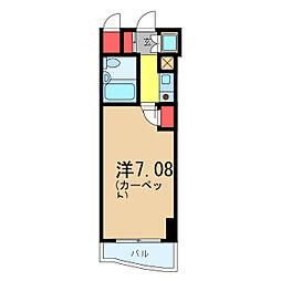 ワコーレ亀有II[4階]の間取り