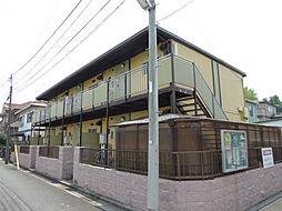 東京都葛飾区東金町6丁目の賃貸アパートの外観