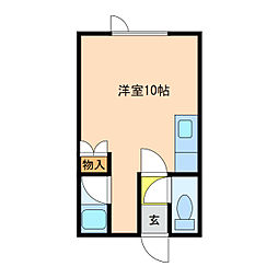 恵み野駅 2.5万円