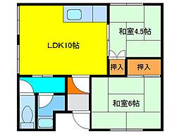 恵み野駅 2.7万円