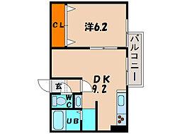 北海道函館市中道1丁目の賃貸マンションの間取り