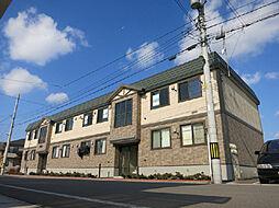 北海道北斗市中野通3丁目の賃貸アパートの外観