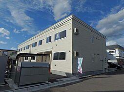 北海道函館市山の手3丁目の賃貸アパートの外観