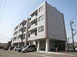 北海道函館市美原2丁目の賃貸マンションの外観